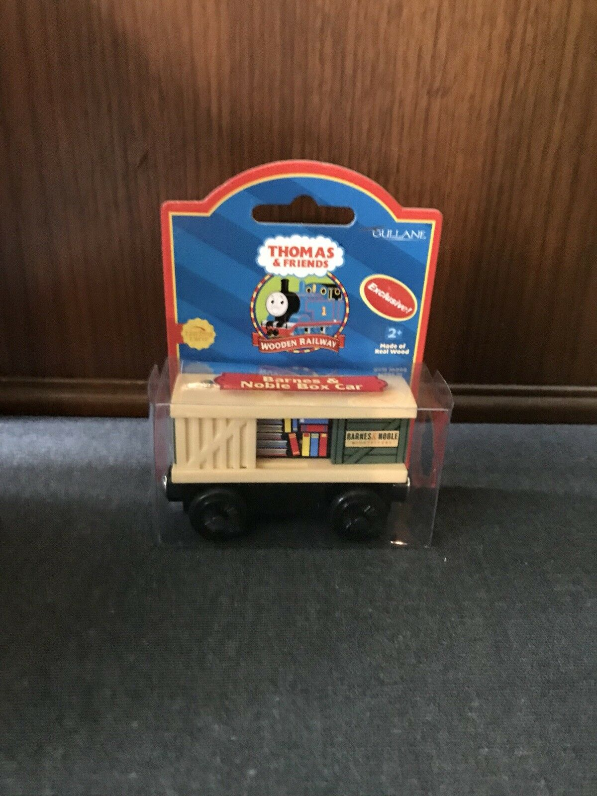 Thomas Wooden Railway Barnes and Noble Box Car New In Box