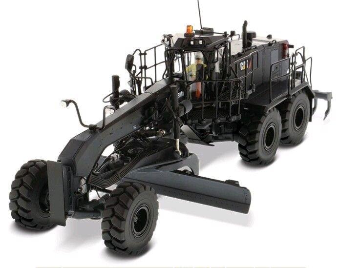 Calibradora de motor Diecast Cat 18M3 (Acabado Negro Onyx), 1:50, maestros Diecast