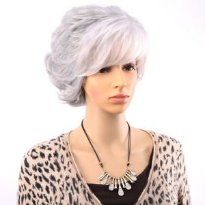 Women-039-s-Fancy-Wigs-Adult-Synthetic-Full-Hair-Stylish-Costumes-Short-Head-Dress