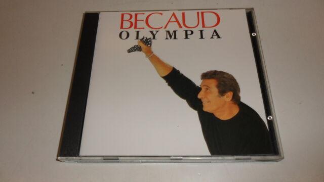 CD  Olympia von Gilbert Becaud