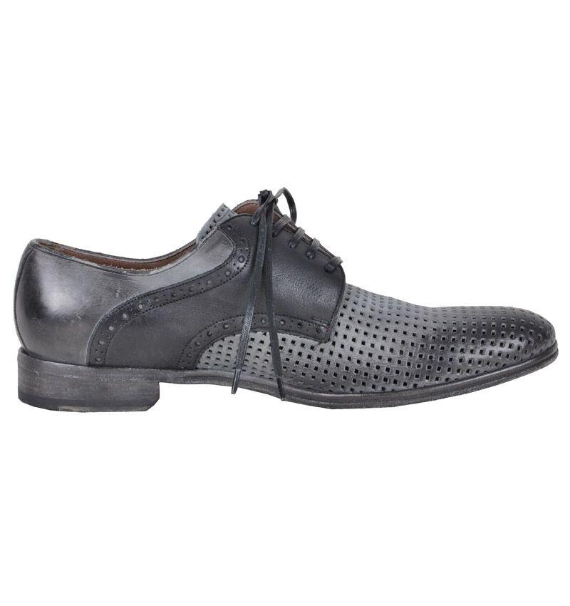DOLCE & GABBANA RUNWAY Netz Schuhe Grau Schwarz Net Shoes Grey Black 02262