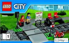 Lego® City 60051 Bahnsteig mit Bahnübergang # NEU # passend zu 60052, 7938,60098