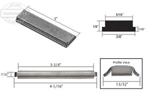 Replacement Magnet for Slip-on Shower Door Handles and Metal ...