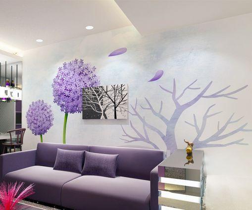 3D Fiori, alberi Parete Murale Foto Carta da parati immagine sfondo muro stampa