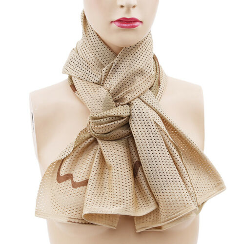 Fashion Military Camouflage Scarf Breathable Soft Scarf Jungle Muffler G