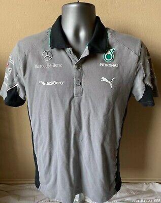 NEW Mercedes Benz AMG F1 Petronas Puma F1 Racing Team Men M Polo Shirt NWT  RARE 4051907456403   eBay