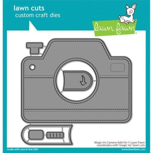 "U Choose Lawn Fawn Magic Iris /""CAMERA ADD-ON/"" Dies OR /""CAMERA PULL TAB ADD-ON/"""