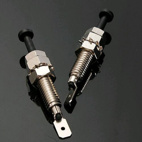 2X Auto Car Truck Bonnet Alarm Light Hood Door Pin Switch Security Universal SY