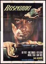 ROSEANNA MANIFESTO CINEMA CASARO THRILLER BLEIB SAUBER, LIEBLING MOVIE POSTER 4F