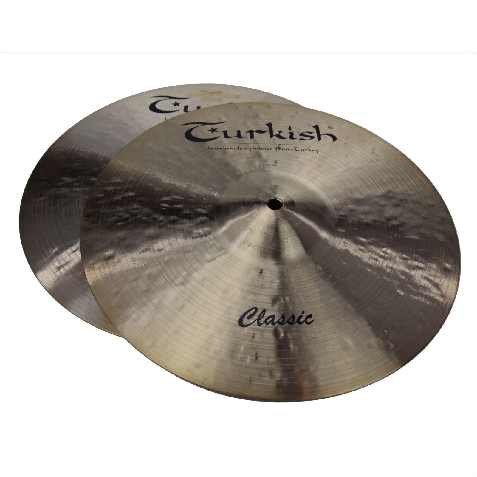 TURKISH CYMBALS cymbale Classic 13  HiHat Hi-Hat 839 912g