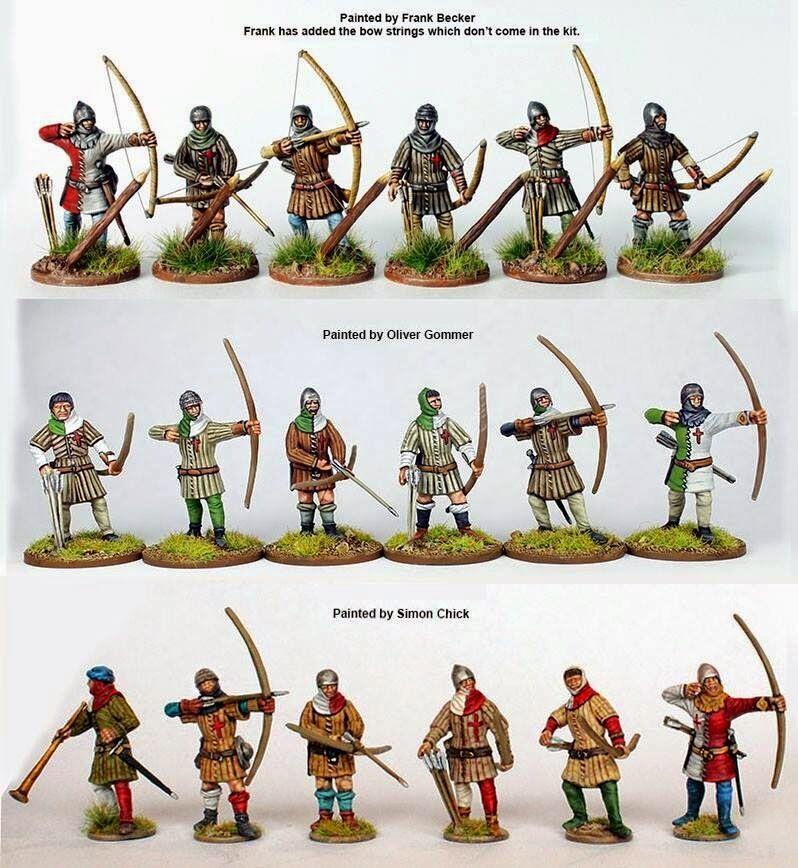 Perry ao40 perry perry perry miniaturen miniaturen der englischen armee 1415-1429 4a768a
