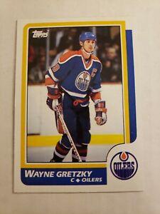 1986-87-Topps-3-Wayne-Gretzky-HOF-Edmonton-Oilers-MINT