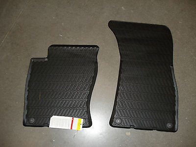 AUDI Genuine Accessories 4E1061221041 Rubber Front Floor Mat A8