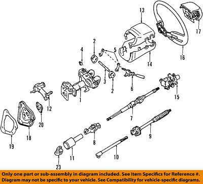 Old Driver 45203-35310 Lower Steering Column Shaft For Toyota 4Runner /& FJ Cruiser Lexus GX470