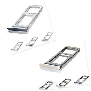 Genuine Samsung Galaxy S7 G930F Single Dual Sim Card Reader Holder Slot Tray