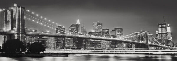 Poster gigantografia in TNT - Brooklyn Bridge - 127x368 cm cm cm - (cod.4NW-320) c89c6f