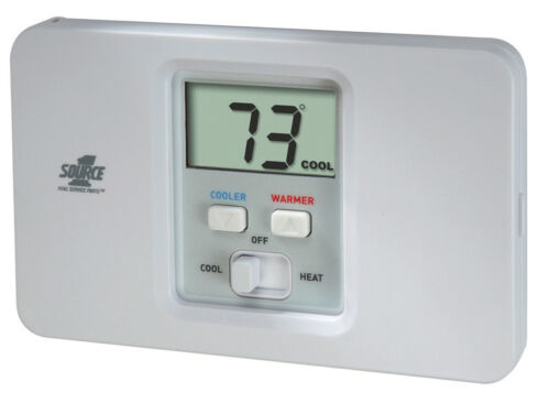 New Source 1 S1-THEC11NS S1THEC11NS Non-Programmable Thermostat