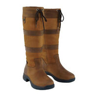 Dublin® Rcs Tall River Boots Brown 6.5 To 10 Ladies,