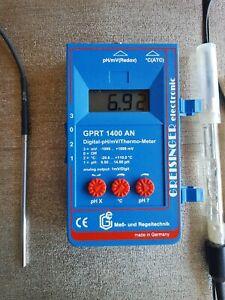 Greisinger Messgerät GPRT 1400 mit Elektroden und Kalibrierungsmaterial - Neunkirchen, Deutschland - Greisinger Messgerät GPRT 1400 mit Elektroden und Kalibrierungsmaterial - Neunkirchen, Deutschland