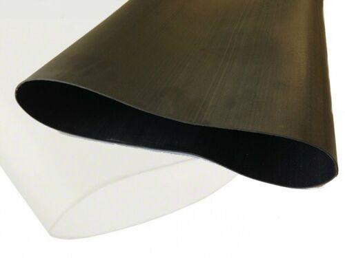 Jumbo Heat Shrink Tubing HSP1 Flame Retardant 150.0mm 75.0mm I.D Black//Clear