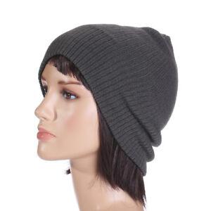 abaacc3358e Unisex Men Women Knitted Baggy Beanie Hat Winter Warm Hat Outdoor ...
