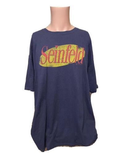 Vintage Men's SEINFELD Ripple Junction Shirt Size