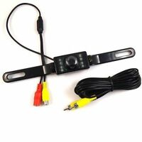 License Plate Night Vision Rearview Back Up Reverse Camera Cmos 7 Led Camera on sale