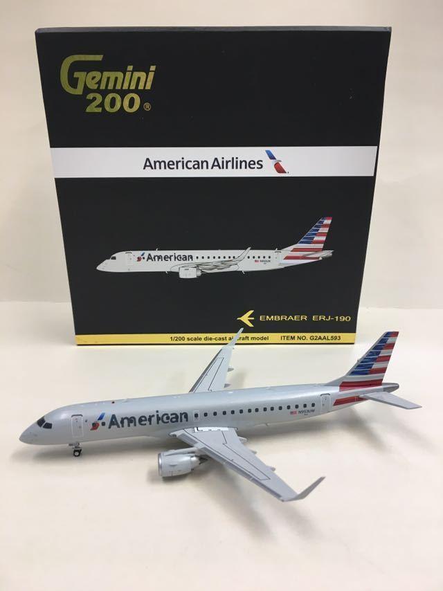 Gemini 200 American Airlines Embraer ERJ-190  1 200 G2AAL593 N953UW  les clients d'abord la réputation d'abord