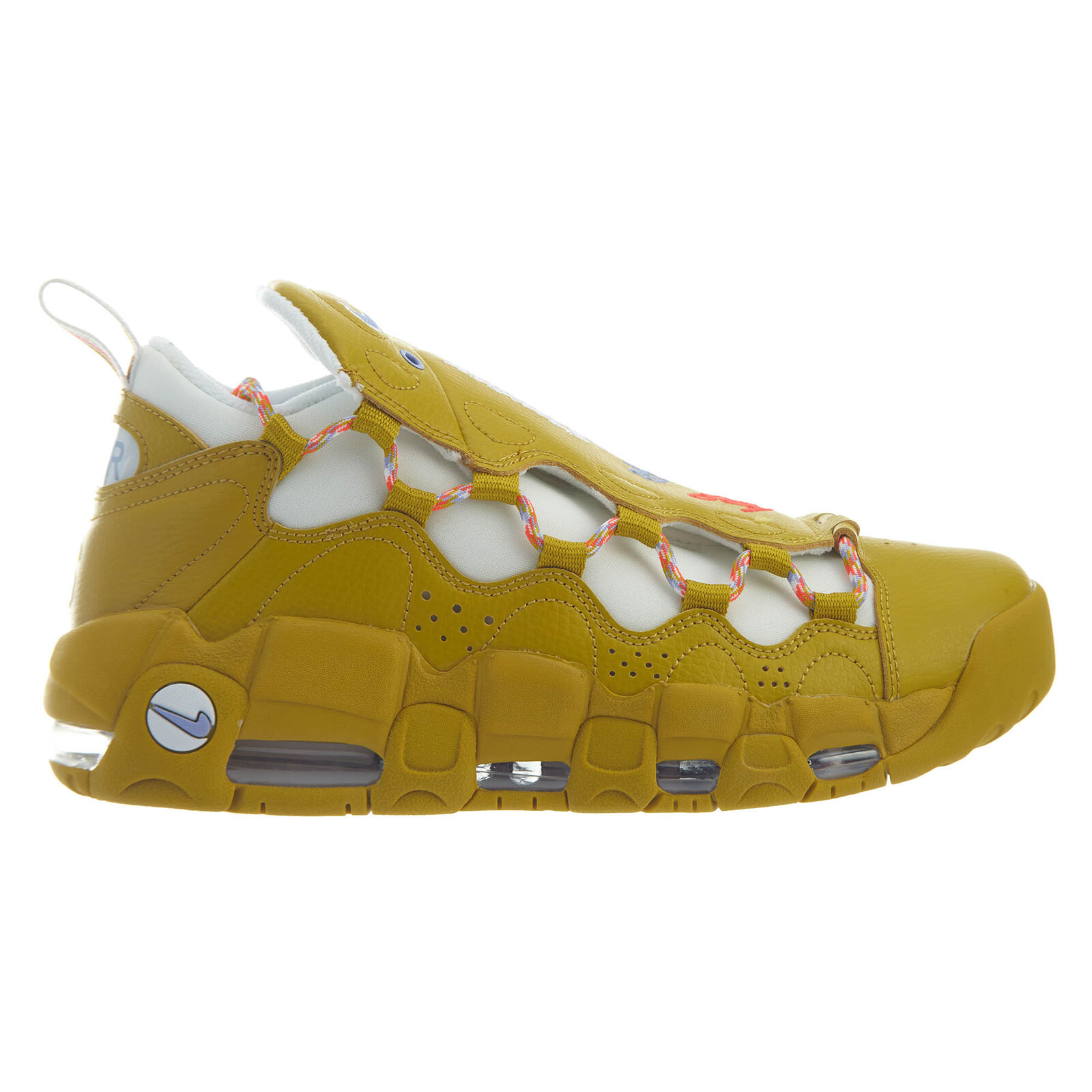 Nike Nike Nike Air More Money Meant to Fly Womens AO1749-300 Dark Citron shoes Size 10 3ec3a2