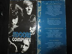 RARE-COFFRET-4-CD-THE-DOORS-COMPLETE