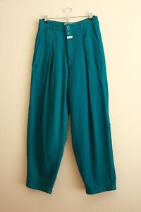 Vintage-80s-90s-Marithe-Francois-Girbaud-Wool-High-Waisted-Trouser-Pants-Mens-30
