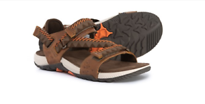 NEW MERRELL TERRANT CONgreen SANDALS BROWN MENS 13 J93913 SPORT SANDALS
