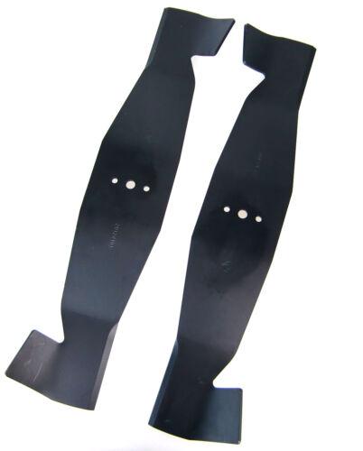 2 Messer Messersatz rechts//links passend für Iseki 8663-306-0020 //8-663-306-0010
