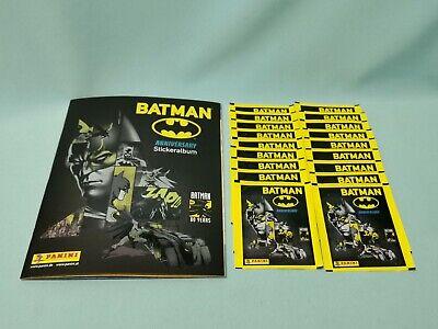 Panini 80 años Batman Anniversary sticker este álbum 5 bolsas//25 sticker