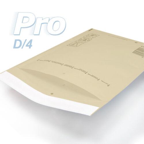100 Enveloppes à bulles *MARRON* gamme PRO taille D//4 format utile 170x265mm