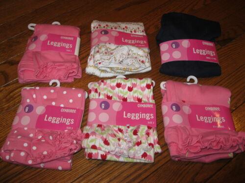 NWT Gymboree Pink,Navy,White Girls Leggings,Pants 3,3T