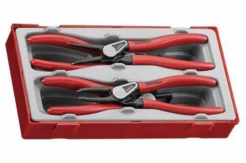 Estuche Teng Tools Últimos 19-60mm Anillo de retención Alicates Tool Set Interno Externo