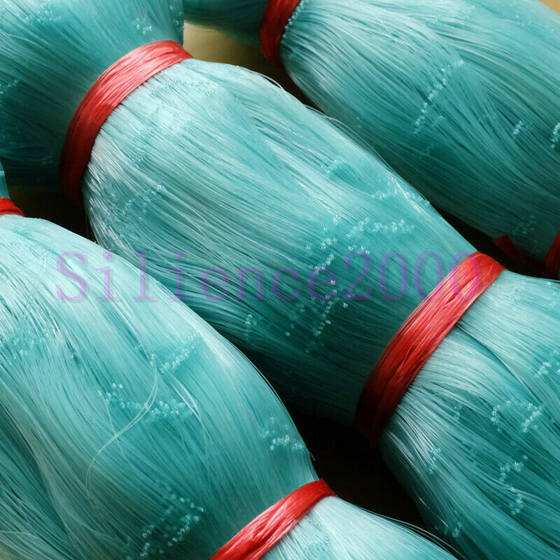 Nylon Silk Nets Fishing Net Monofilament Gill Net Semi-Finished  Products 5 x 5cm  choices with low price