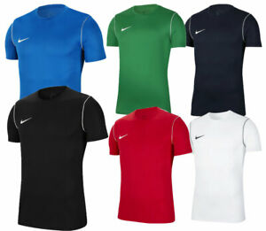 Nike-Pour-Hommes-Park-20-T-shirts-Sports-Football-Jersey-Gym-Training-Tops-Dri-Fit