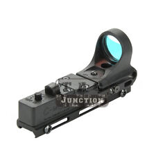 Tactical IPSC USPSA IDPA Railway Red Dot Sight for 20mm Picatinny Weaver Rail