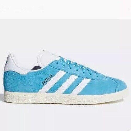Adidas Originals Gazelle Size Trainers Size Gazelle 9.5 Turquoise/White 4c1c88