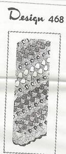 Crocheted-Afghan-Pattern-468-Vintage-New