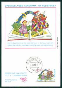 Audacieux Pays-bas Mk 1980 Voor Het Enfant Maximum Carte Carte Maximum Card Mc Cm Ek19-afficher Le Titre D'origine