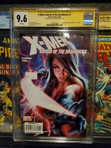 X-MEN-SWORD-OF-THE-BRADDOCKS-1-CGC-9-6-SIGNED-by-CHRIS-CLAREMONT-MARVEL-COMICS