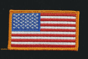 OD GREEN FLAG USA HAT PATCH US ARMY NAVY AIR FORCE MARINES USCG PIN UP MILITARY