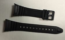 Casio replacement black strap band W96H Watch