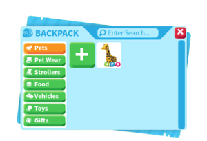 Roblox Adopt Me Pets Vehicles Toys And Gifts With Purchase Of Logo Ebay