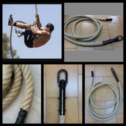 cuerda soga rope cañamo 30mm climbing climb crossfit funccional power manila