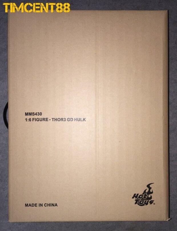 listo  Hot Juguetes MMS430 Thor  Ragnarok Gladiador Hulk Figura De 1 6 Nuevo