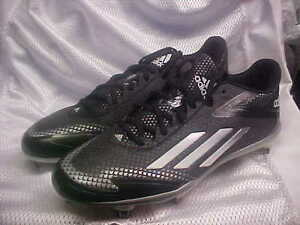 premium selection 3762f bb737 Image is loading Adidas-Adizero-Afterburner-2-0-Metal-Baseball-Cleats-